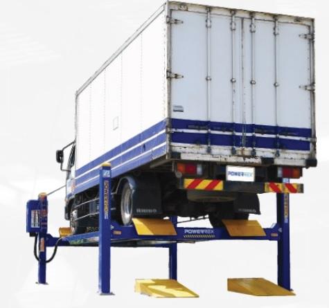 SL8000 4 post 8 ton lift